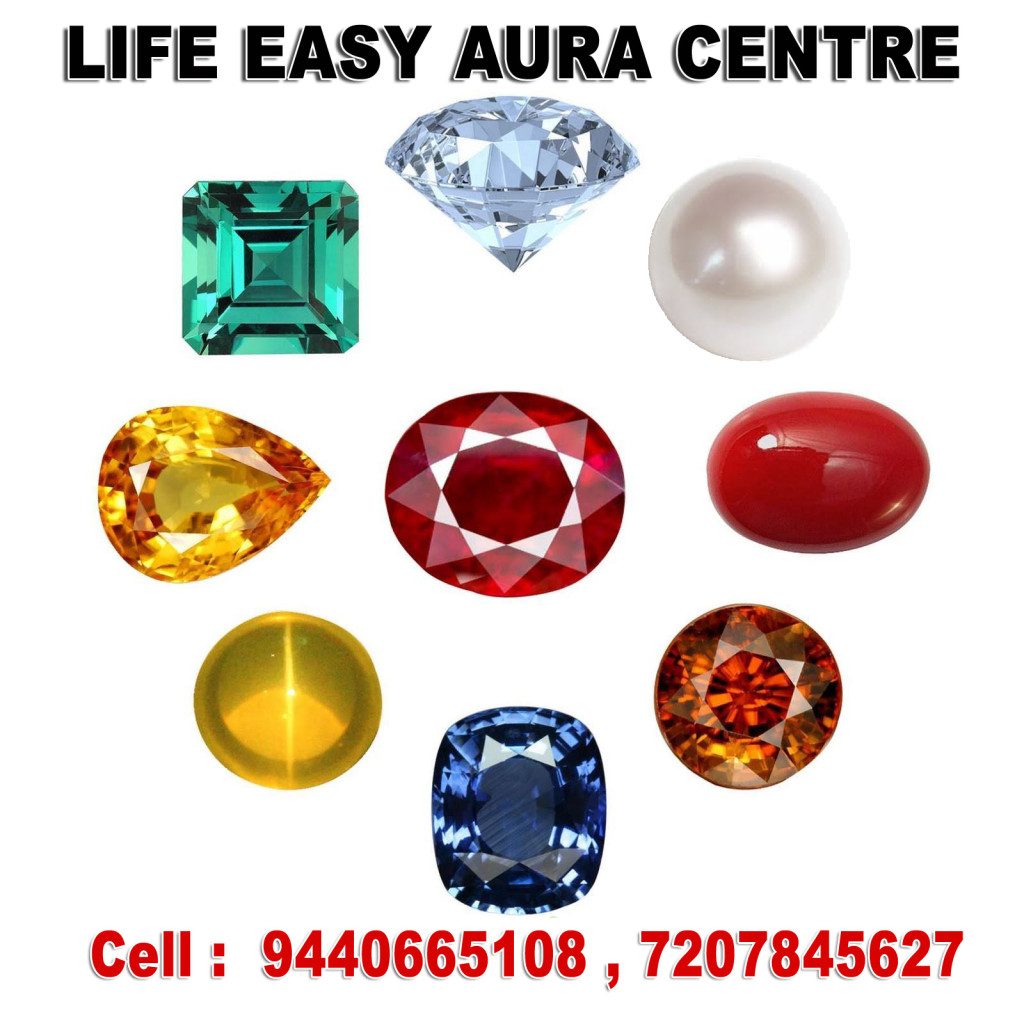 GEMSTONES -NAVARATNAS CERTIFIED